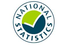 this image shows the logo for the office of national statistics