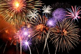 this is an image showing fireworks
