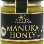 this image shows a jar of manuka  honey