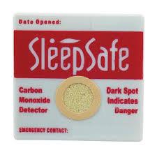 a sleep safe carbon monoxide detector