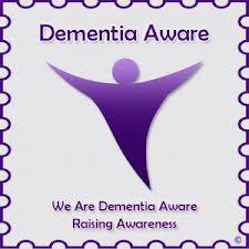 the global sign for dementia the purple angel