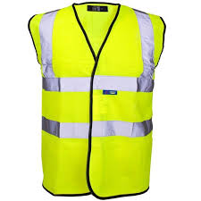 this image shows a high visibility vest