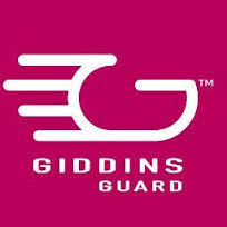 this image shows the logo for Giddins guard, a protective clothing technology manufacturer