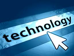 this image shows the word technology and an arrow pointing towards it