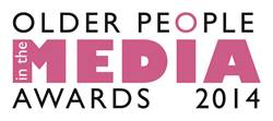this image shows the words Older People in the media awards