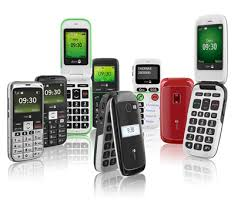 this image shows a range of doro phones