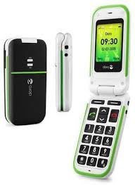 this image shows the doro easy mobile phone