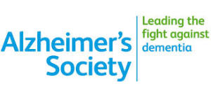 this image shows the alzheimers society logo