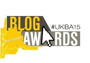 UK Blog Awards 2015 - Shortlisted Logo