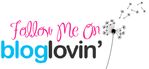 this image shows the wording for a blog following site Bloglovin