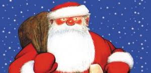 this picture is of Father Christmas.