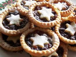 this image shows a delicious plate of mince pies