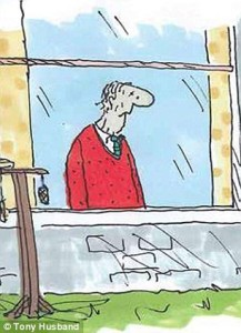 picture 12 in the series the Saddest Goodbye by Tony Husband