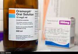 this image shows a bottle of orimorph