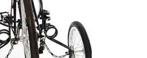 this image shows a set of ez trainer stabiliser wheels for an adult cycle