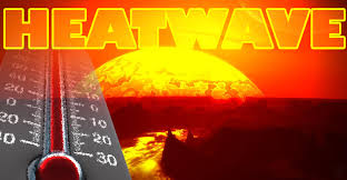 this image shows the word heatwave