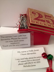 the dementia cards at Christmas
