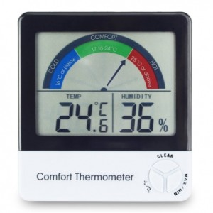 this image shows a comfort thermometer from ETI who are the UK's largest producers of digital thermometers in the UK