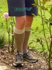 dermatuff socks are thick leg protectors