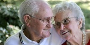 this image shows an elderly couple