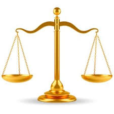 this image shows a set of legal scales
