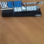 this is the 2016 UK Blog Award for the best in the Health and Social Care Category
