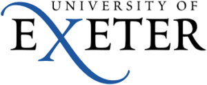 this image shows the logo for Exeter University