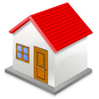 this image shows a very simple house