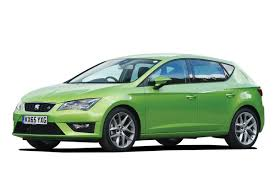 this image shows a green car