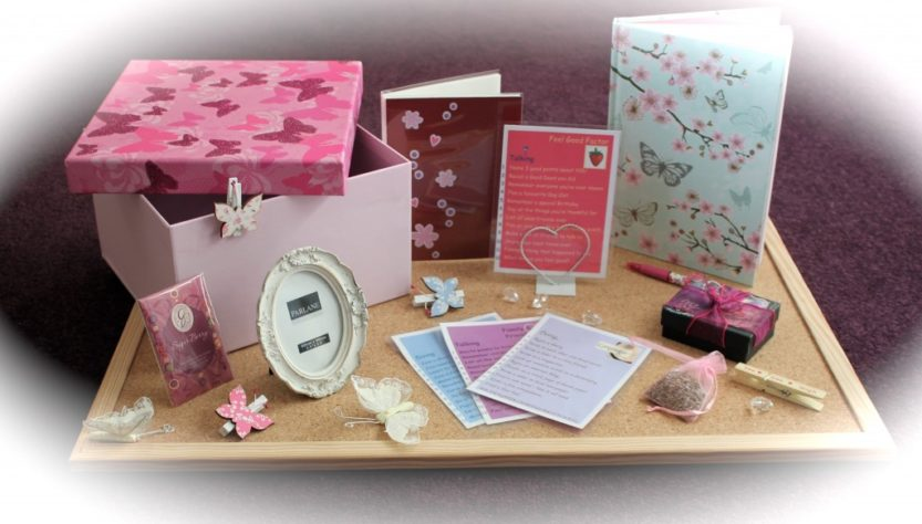 this image shows a range of items and activities to help someone with dementia