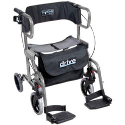 this is a wheelchair walker