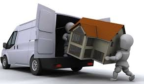 this image shows a removal van