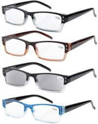 this image shows a set of 4 reading glasses